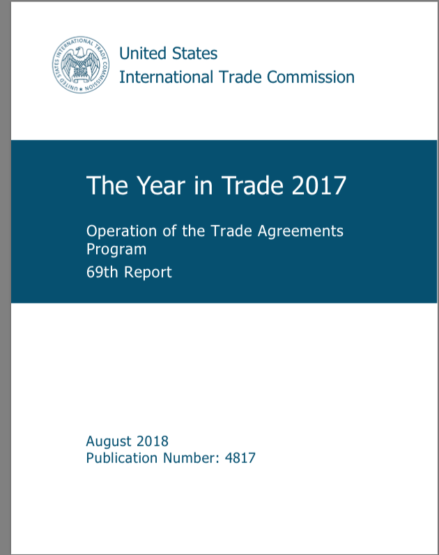 Year In Trade 2017 Highlights Of Us Trade Relations With China