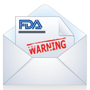 FDA Warning Letter